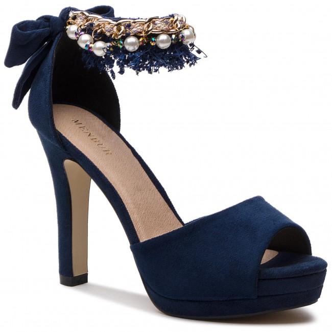Sandali MENBUR - 09878 Midnight blu 0021 - Sandali eleganti - Sandali - Ciabatte e sandali - Donna | Economico  | Uomini/Donna Scarpa