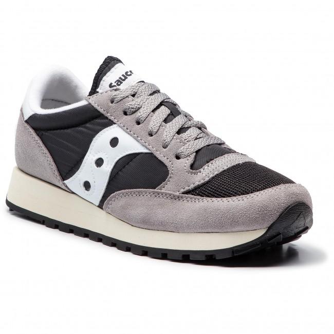 Sneakers SAUCONY - Jazz Original Vintage S70368-37 Grey Black White ... a07622fde3a