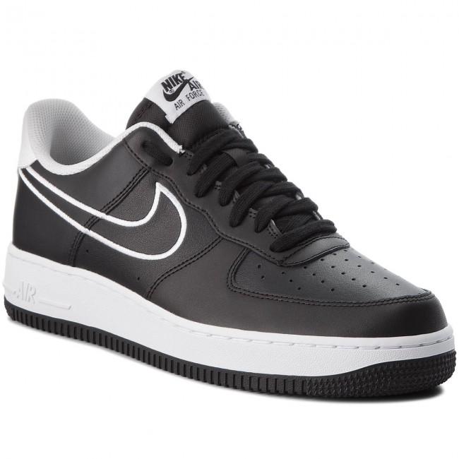 best sneakers a7587 0cf80 Scarpe NIKE Air 1 Force 1 Air 07 Lthr AJ7280 001 Nero bianca Scarpe da  Ginnastica b95f27