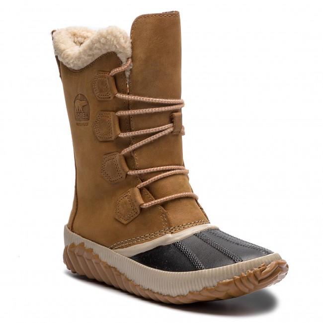Stivali da neve SOREL - Out N About Plus Tall NL3146 Elk 286 - Stivali da neve - Stivali e altri - Donna | Alta sicurezza  | Uomo/Donne Scarpa