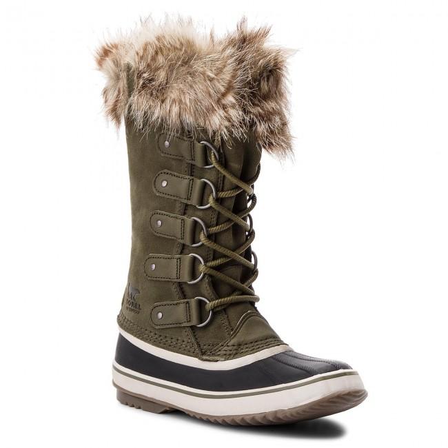 Stivali da neve SOREL - Joan Of Arctic NL2429 Nori Dark Stone 383 - Stivali da neve - Stivali e altri - Donna | Non così costoso  | Uomini/Donna Scarpa