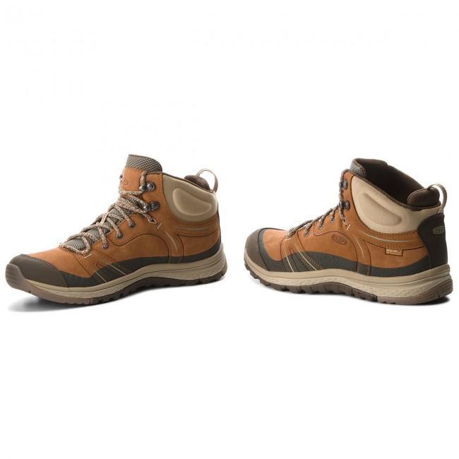 Scarpe da trekking KEEN - Terradora Leather Mid Wp 1017752 Timber Cornstalk e9093e720c