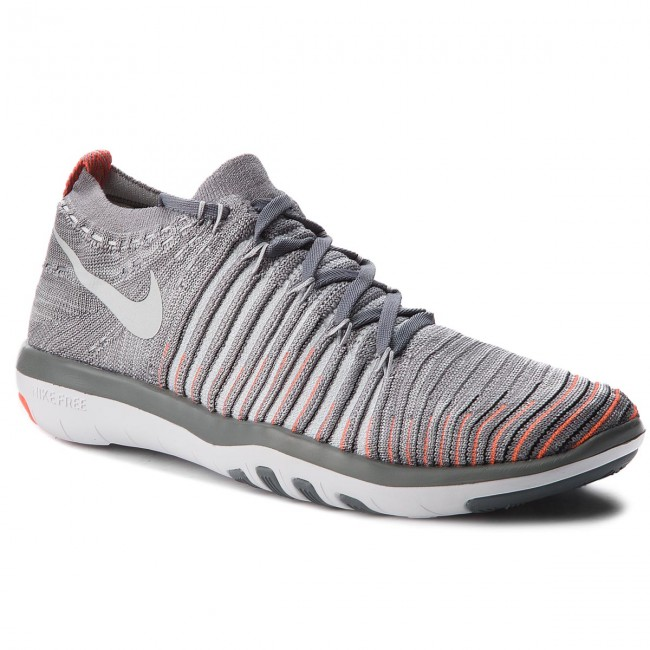 separation shoes 5cddc 45906 Scarpe NIKE - Free Transform Flyknit 833410 006 Cool Grey Pure Platinum