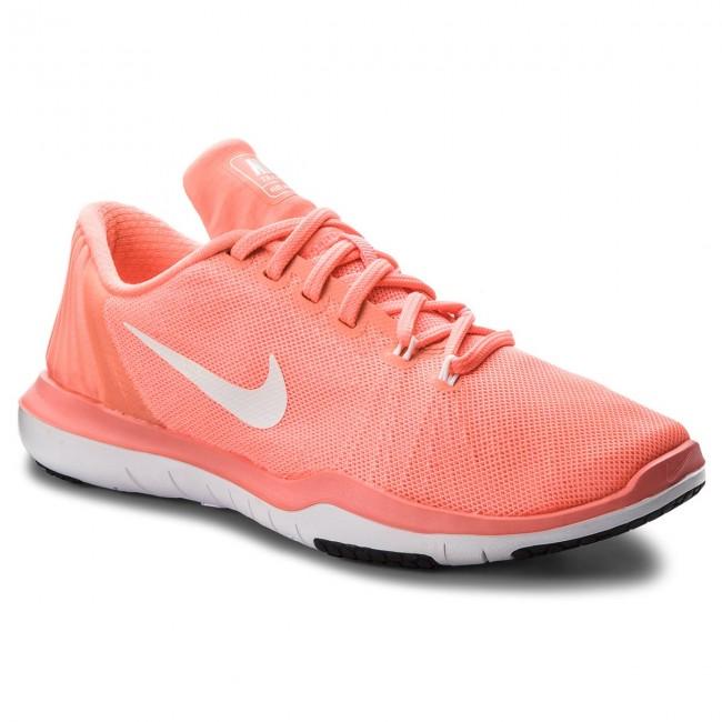 Scarpe NIKE - Flex Supreme Tr 5 852467 600 Lava Glow bianca University rosso - scarpe da ginnastica - Scarpe basse - Donna | Design Accattivante  | Maschio/Ragazze Scarpa