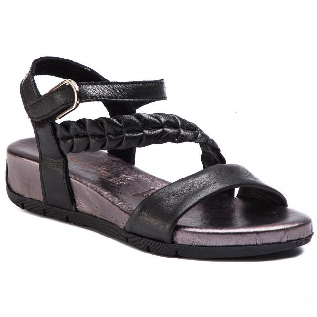 Sandali TAMARIS - 1-28232-22 nero Comb 098 - Zeppe - Ciabatte e sandali - Donna | adottare  | Sig/Sig Ra Scarpa