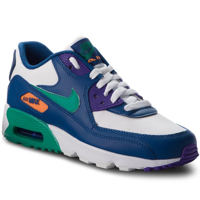 quality design fdb6c ab944 Scarpe NIKE - Air Max 90 Ltr (GS) 833412 410 Gym Blue Neptune