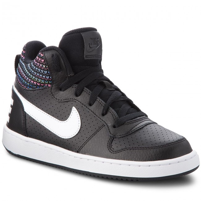 timeless design 3fc61 7b9b2 Scarpe NIKE - Court Borough Mid Se (GS) 918340 005 BlackWhite