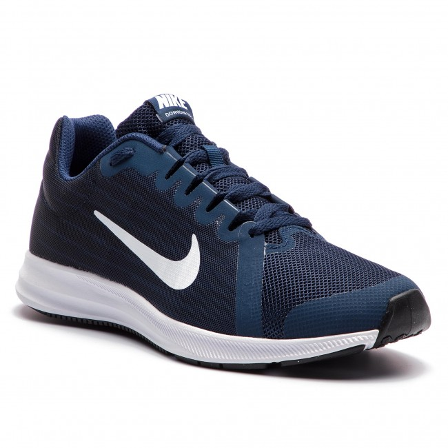 94d5151769a84 Scarpe NIKE - Downshifter 8 (GS) 922853 400 Midnight Navy White ...