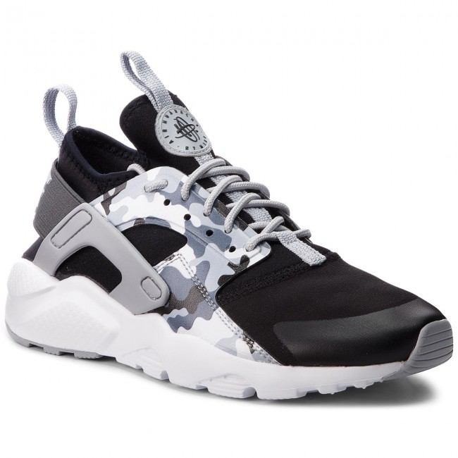 Scarpe NIKE - Air Huarache Run Ultra Prt Gs AQ9038 001 Black Wolf Grey  d3040f45d81