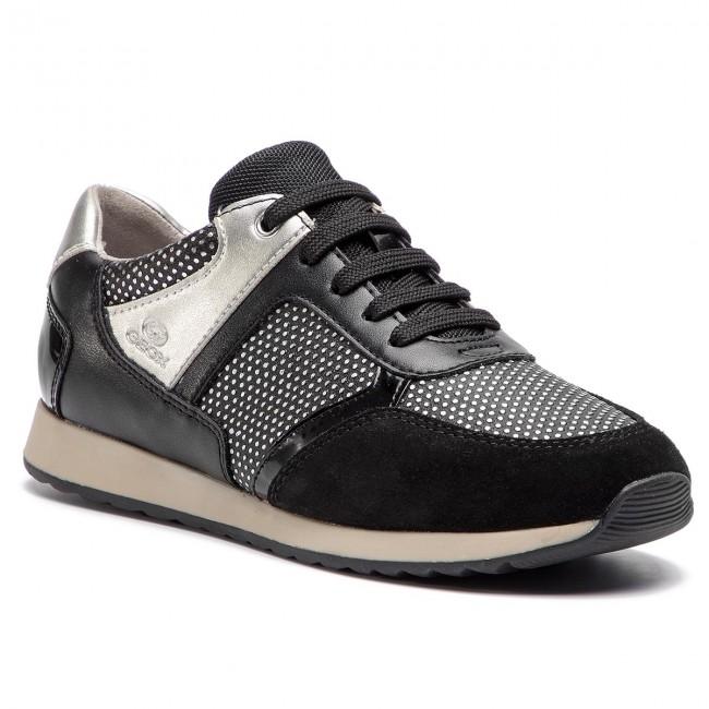 276fdd6fdf41c Sneakers GEOX - D Deynna C D846FC 00454 C9999 Black - Sneakers ...