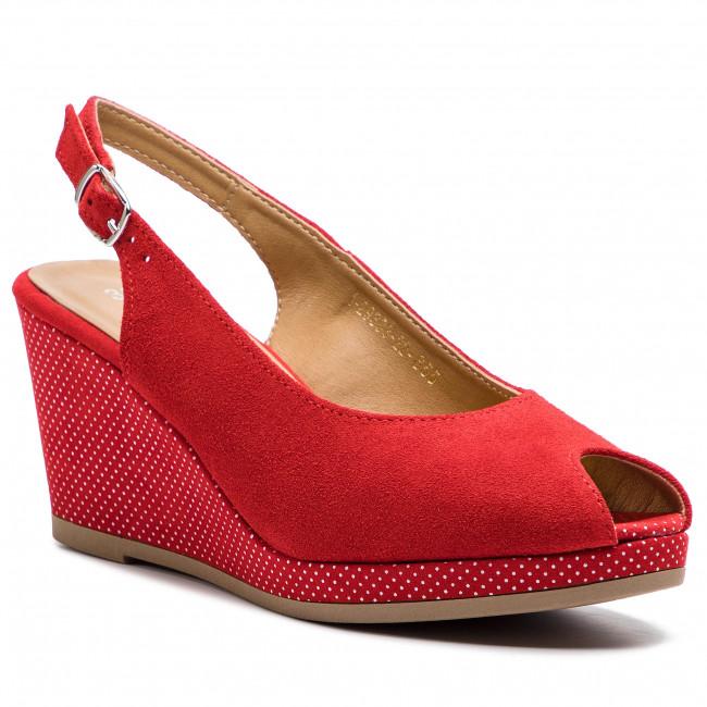 Sandali TAMARIS - 1-29303-22 Lipstick Dots 655 - Sandali da giorno - Sandali - Ciabatte e sandali - Donna | Colori vivaci  | Uomo/Donna Scarpa