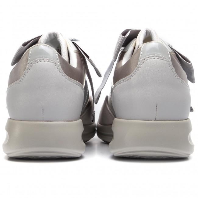 Sneakers GEOX D Agyleah A D926CA 0HI22 C1010 Lt Grey