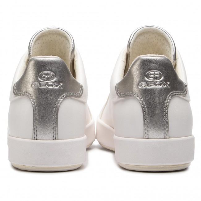 Sneakers GEOX D Blomiee B D926HB 054AJ C1151 Optic WhiteSilver