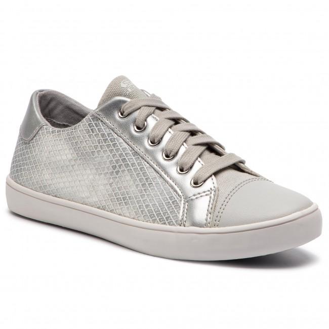 53d03b1aae Sneakers GEOX - J Gisli G. D J924ND 0QDAJ C0434 D Silver/White ...