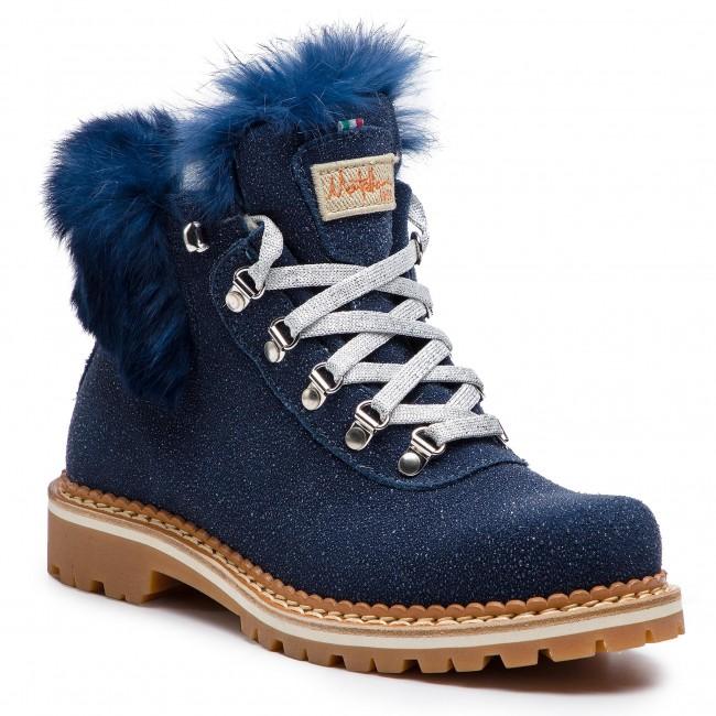 Scarponcini MONTELLIANA - Clara M1715 Navy Glitter - Scarpe da trekking e scarponcini - Stivali e altri - Donna | Per tua scelta  | Uomo/Donne Scarpa
