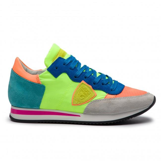 Philippe Tropez Sneakers Orange Mondial Pop Trld Vert Model N004 1qP4zw