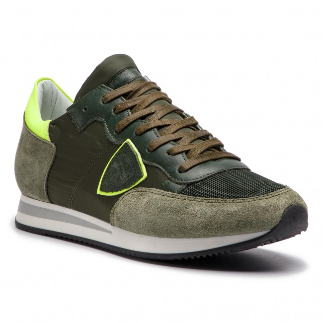 Fluo Tropez Model Nx02 Trlu Vert Mondial Jaune Philippe Sneakers KJ13lcTF