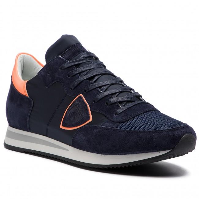 Sneakers PHILIPPE MODEL - Tropez TRLU NX03 Fluo Bleu Orange ... edbfab2232a