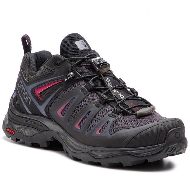 Scarpe da trekking SALOMON - X Ultra 3 W 404681 20 M0 Graphite nero Citronelle - Scarpe da trekking e scarponcini - Scarpe basse - Donna | Moda Attraente  | Gentiluomo/Signora Scarpa