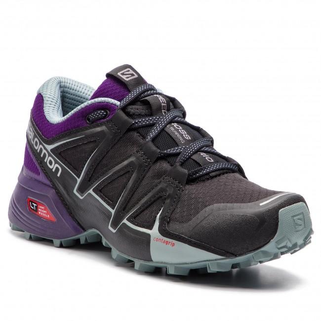 Scarpe SALOMON - - - Speedcross Vario 2 W 406107 20 V0 nero Acai Lead - Trail running - Running - Scarpe sportive - Donna   Prezzo Moderato    Gentiluomo/Signora Scarpa  d669fc