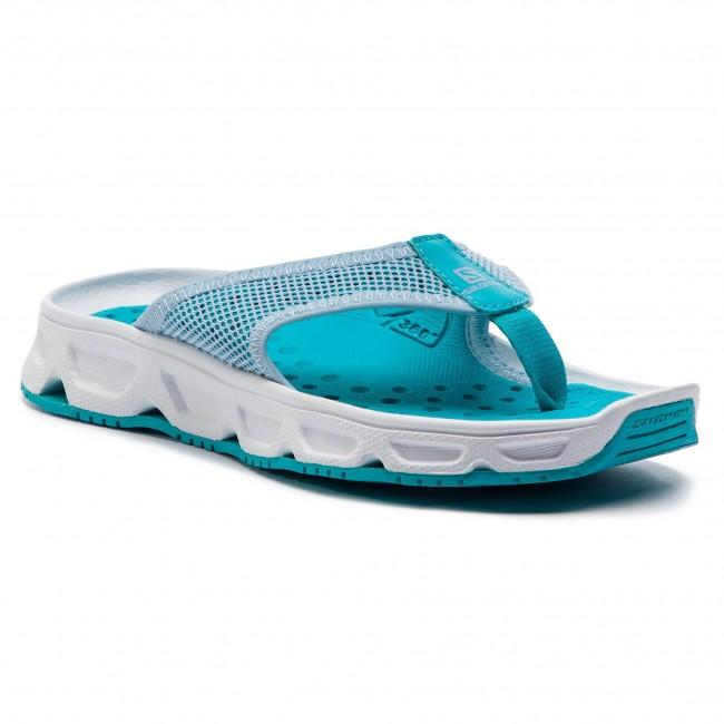 Infradito SALOMON - Rx Break 4.0 W 407451 20 M0 Cashmere blu bianca blubird - Infradito - Ciabatte e sandali - Donna | Bel design  | Scolaro/Signora Scarpa