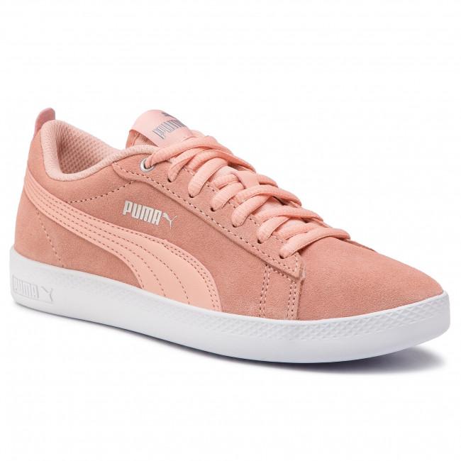 scarpe da ginnastica PUMA - Smash Wns V2 Sd 365313 14 Peach Bud argento Puma bianca - scarpe da ginnastica - Scarpe basse - Donna | Qualità Stabile  | Scolaro/Signora Scarpa