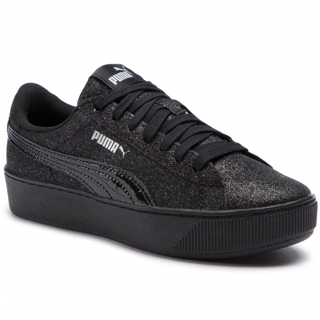 Sneakers PUMA Vikky Platform Glitz Jr 366856 05 Puma BlackPuma Black