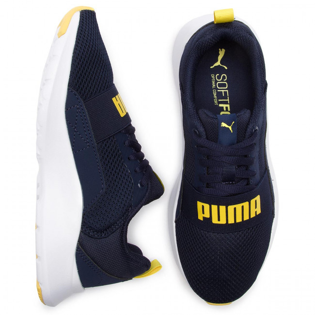 Puma Jr Fitness 366901 Peacoatblazingyellow 05 Scarpe Wired b6yYgf7
