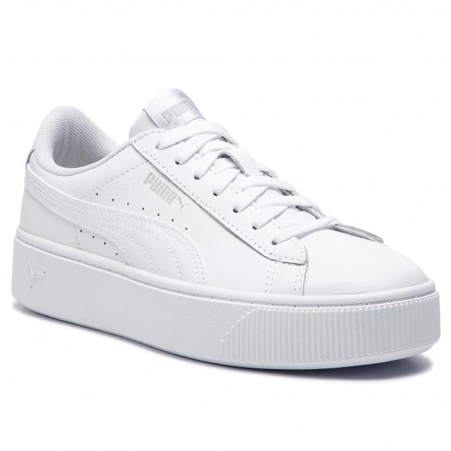 scarpe da ginnastica PUMA - Vikky Stacked L 369143 02 Puma bianca Puma bianca - scarpe da ginnastica - Scarpe basse - Donna | Bella E Affascinante  | Uomini/Donne Scarpa