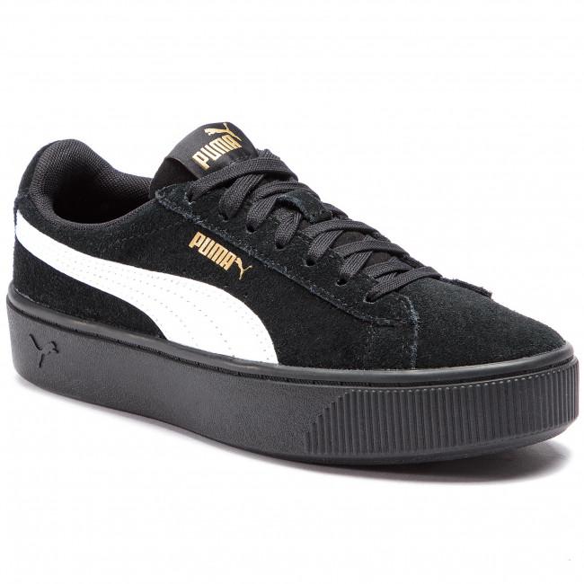 scarpe da ginnastica PUMA - Vikky Stacked SD 369144 03 Puma nero Puma bianca - scarpe da ginnastica - Scarpe basse - Donna | Ad un prezzo inferiore  | Uomini/Donne Scarpa