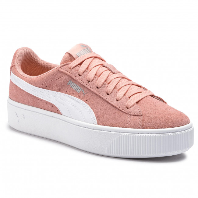 new products 990ff a8883 Sneakers PUMA - Vikky Stacked Sd 369144 07 Peach Bud Puma White