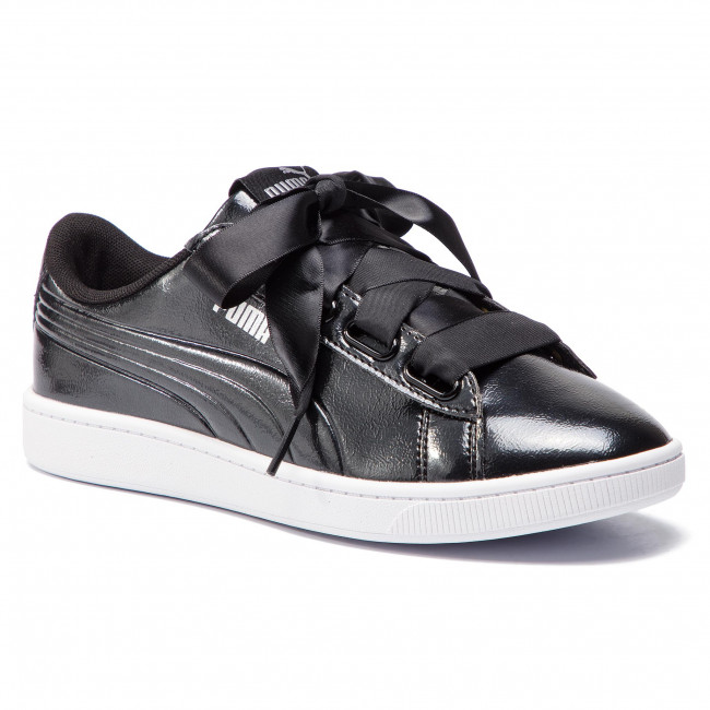 scarpe da ginnastica PUMA - Vikky V2 Ribbon P 369727 01 Puma nero Puma argento - scarpe da ginnastica - Scarpe basse - Donna | Exit  | Scolaro/Ragazze Scarpa