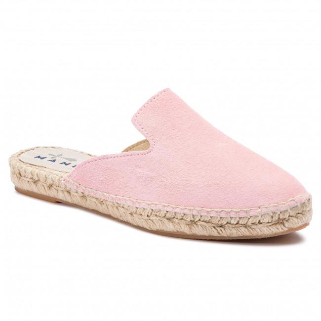Espadrillas MANEBI - Mules M 1.4 M0 Pastel rosa - Espadrillas - Ciabatte e sandali - Donna | Ultima Tecnologia  | Scolaro/Ragazze Scarpa