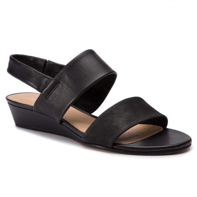 Sandali CLARKS - Sense Lily 261394404 nero Combi - Sandali da giorno - Sandali - Ciabatte e sandali - Donna | elegante  | Uomini/Donna Scarpa