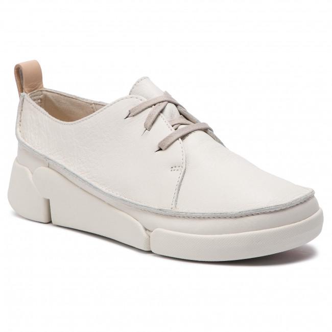 Scarpe basse CLARKS - Tri Clara 261385694 bianca - Basse - Scarpe basse - Donna | La prima serie di specifiche complete per i clienti  | Gentiluomo/Signora Scarpa