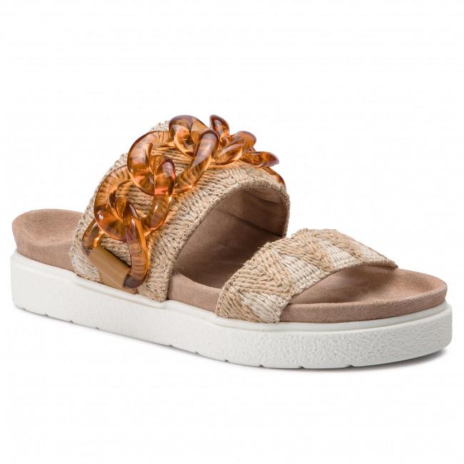 Ciabatte INUIKII - Slipper Chain Raffia 70104-13 Sand - Ciabatte da giorno - Ciabatte - Ciabatte e sandali - Donna   La Vendita Calda    Scolaro/Ragazze Scarpa