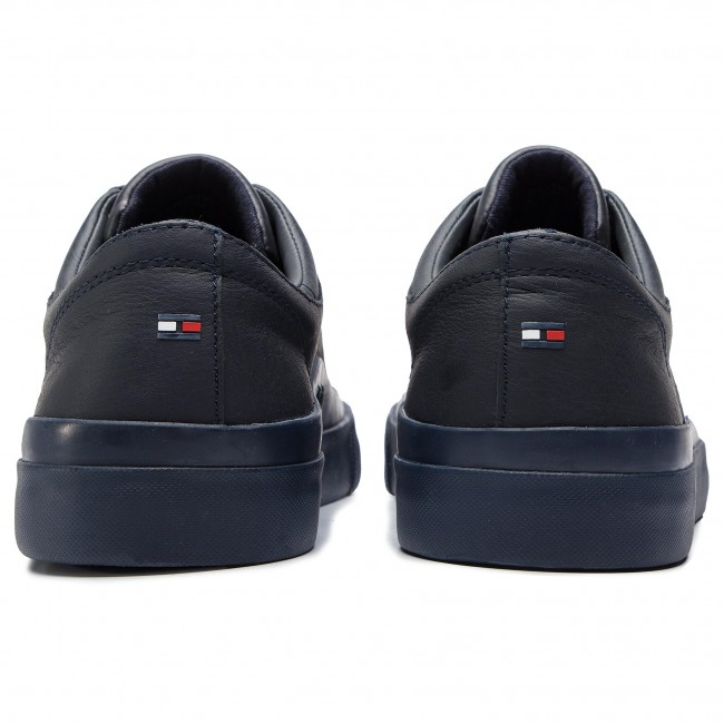 Sneakers TOMMY HILFIGER Corporate Leather Low Sneaker FM0FM01943 Midnight 403