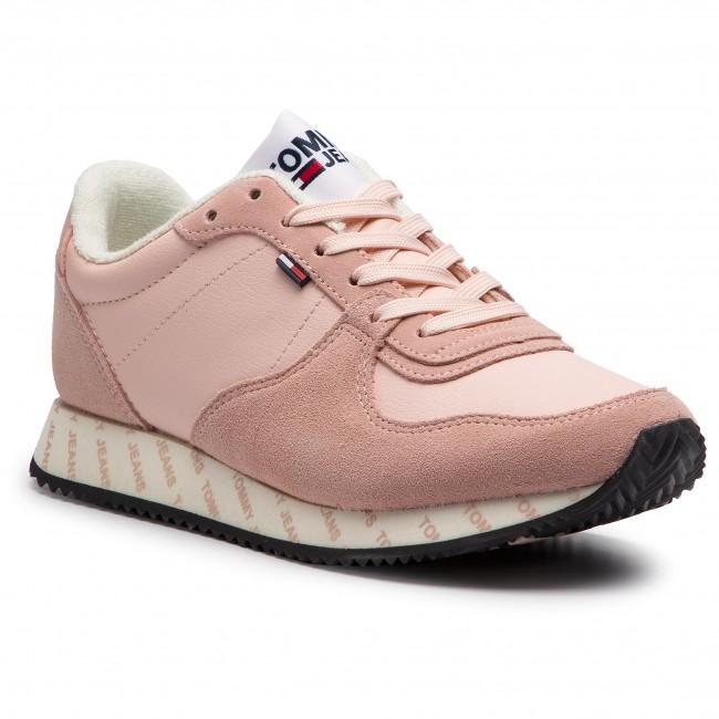 scarpe da ginnastica TOMMY JEANS - Casual scarpe da ginnastica EN0EN00394 argento Peony 658 - scarpe da ginnastica - Scarpe basse - Donna | Nuovi Prodotti  | Uomo/Donna Scarpa