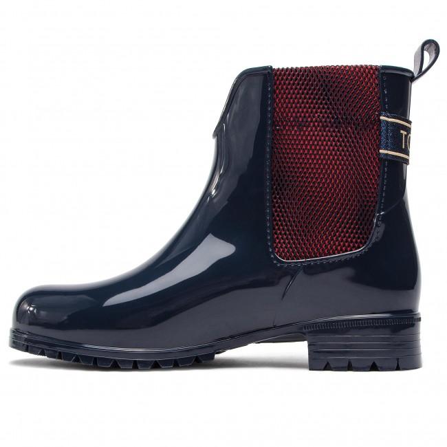 Wellington TOMMY HILFIGER - FW0FW03713 Midnight 403 403 403 - Stivali da pioggia - Stivali e altri - Donna | Alta Qualità  | Uomini/Donne Scarpa  01eb7c