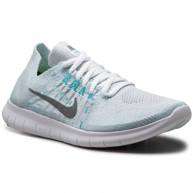 new concept a83d9 d2f91 Scarpe NIKE - Free Rn Flyknit 2017 880844 012 Pure Platinum Metallic Silver