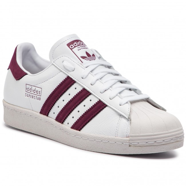 sports shoes 71454 53ee4 Scarpe adidas - Superstar 80s CM8439 Ftwwht Maroon Crywht