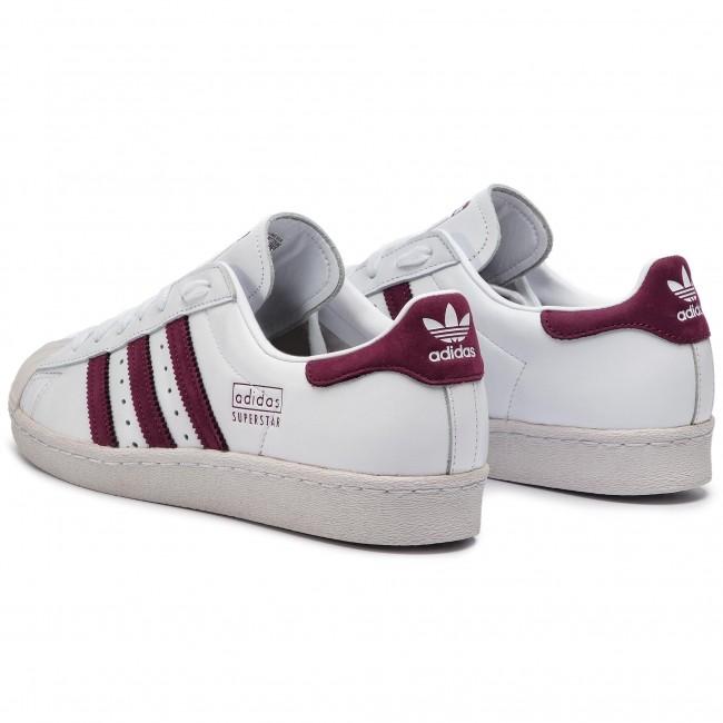 Superstar Ftwwhtmarooncrywht Adidas Sneakers Cm8439 Scarpe 80s ym8Pvn0wNO