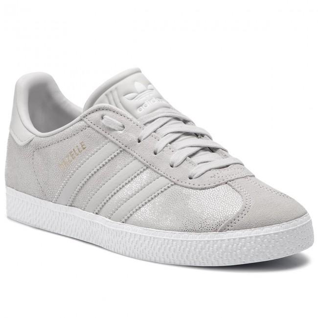 4436e04ff0 Scarpe adidas - Gazelle J F34555 Ftwwht/Greone/Ftwwht - Sneakers ...