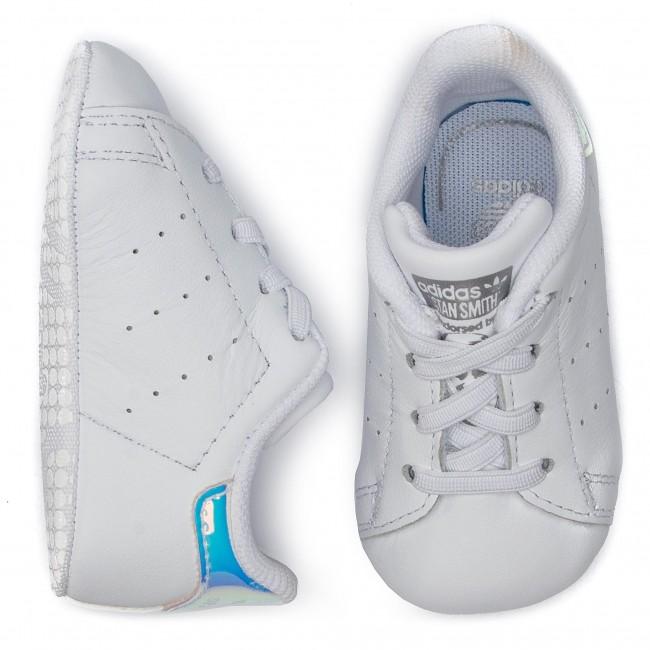 Adidas Scarpe Stan Smith Crib CG6543 FtwwhtFtwwhtSilvmt