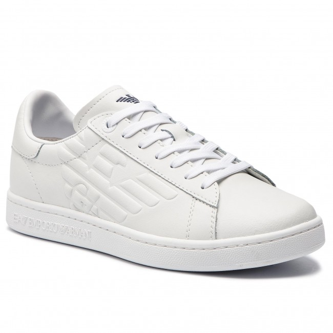 Sneakers EA7 EMPORIO ARMANI - X8X001 XCC51 00001 White - Sneakers ... b71af1f58c7