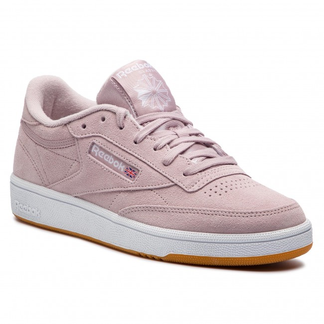 Scarpe Reebok - Club C 85 DV3706 Ashen violac bianca Gum - scarpe da ginnastica - Scarpe basse - Donna | Gioca al meglio | Uomo/Donna Scarpa