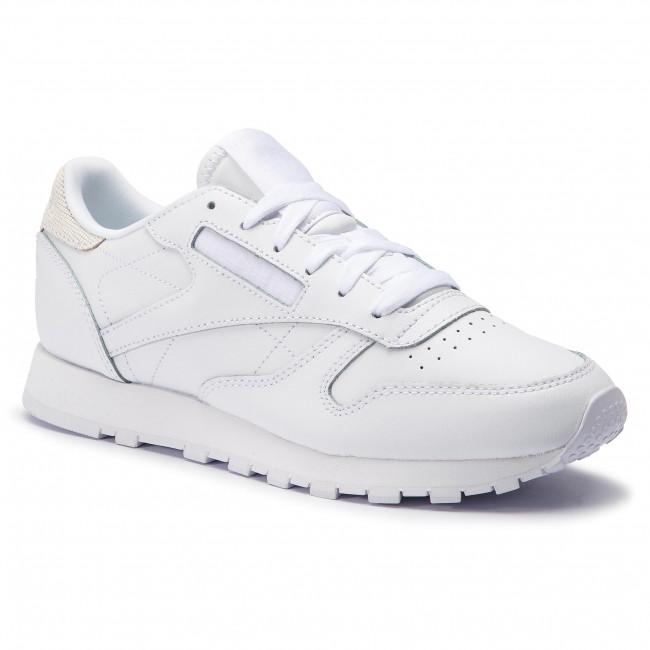 Scarpe Reebok - Cl Lthr CN7754 bianca Mineral Mist - scarpe da ginnastica - Scarpe basse - Donna | Alta qualità e basso sforzo  | Scolaro/Signora Scarpa
