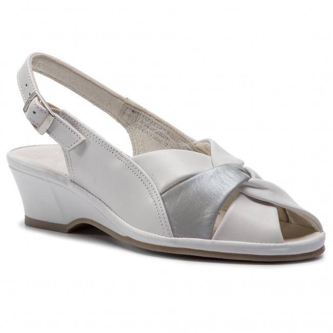 Sandali MARCO TOZZI - 2-28910-22 bianca Comb 197 - Zeppe - Ciabatte e sandali - Donna | Fashionable  | Sig/Sig Ra Scarpa