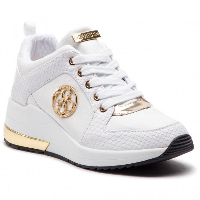 meet 0c2ed 78d95 scarpe da ginnastica GUESS FL5JA2 LEA12 bianca - scarpe da ...