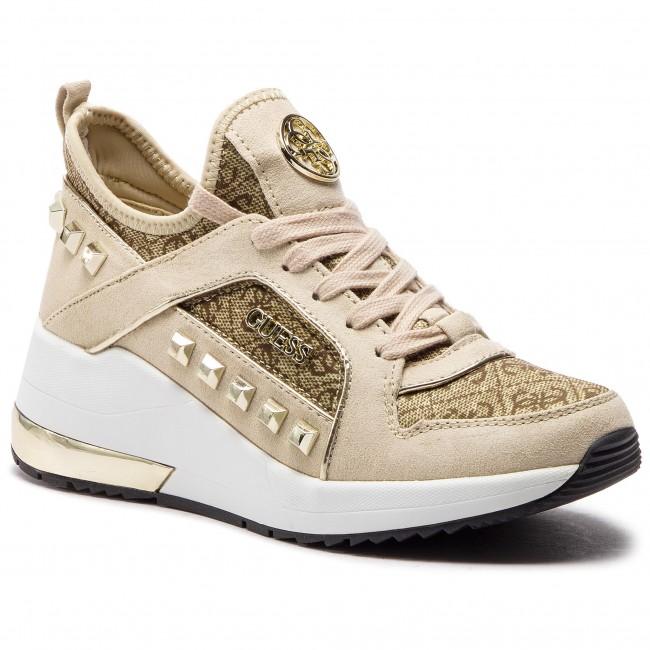 Guess Julyann Fl5jul Brown Fal12 Sneakers Beibr erCxBoQdW